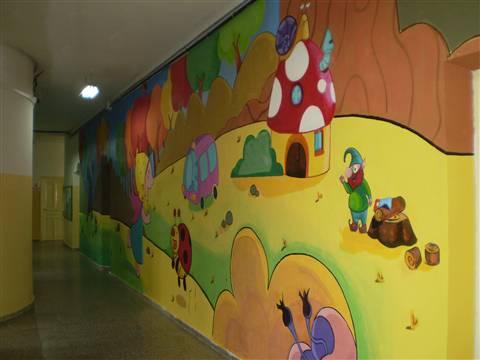 Murales infantiles para aulas imagui for Murales infantiles